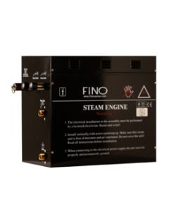 18 KW FINO Commercial Steam Generator including Digital Controls and 2 Aromatherapy Steamheads