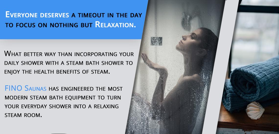 Enjoy the health benefits of steam